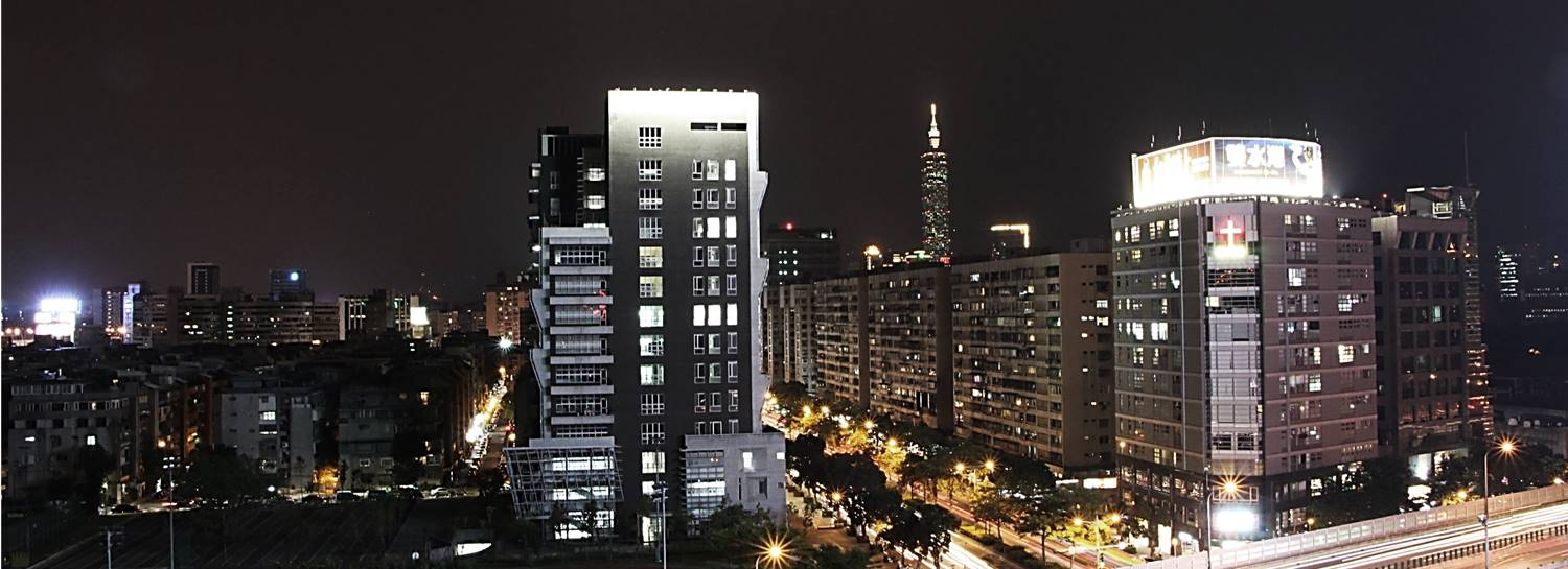 Everlight Building at night